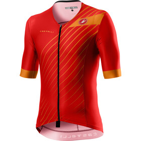 Castelli Free Speed 2 Race Top Manga Corta Hombre, red/fiery red